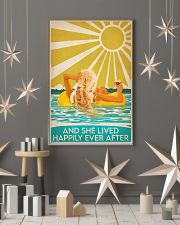 Swimming blonde and she lived happily ever after p 11x17 Poster lifestyle-holiday-poster-1