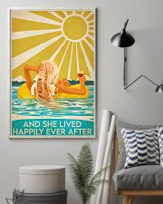 Swimming blonde and she lived happily ever after p 11x17 Poster lifestyle-poster-1