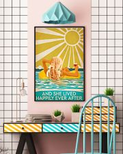 Swimming blonde and she lived happily ever after p 11x17 Poster lifestyle-poster-6