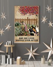 Garden Girl and dogs and she lived happily ever af 11x17 Poster lifestyle-holiday-poster-1