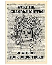 We're the granddaughters of witches you couldn't b 11x17 Poster front