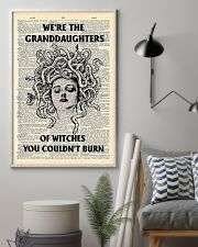 We're the granddaughters of witches you couldn't b 11x17 Poster lifestyle-poster-1