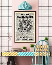 We're the granddaughters of witches you couldn't b 11x17 Poster lifestyle-poster-6