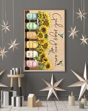Sunflower god says you are unique special lovely p 11x17 Poster lifestyle-holiday-poster-1