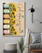 Sunflower god says you are unique special lovely p 11x17 Poster lifestyle-poster-1