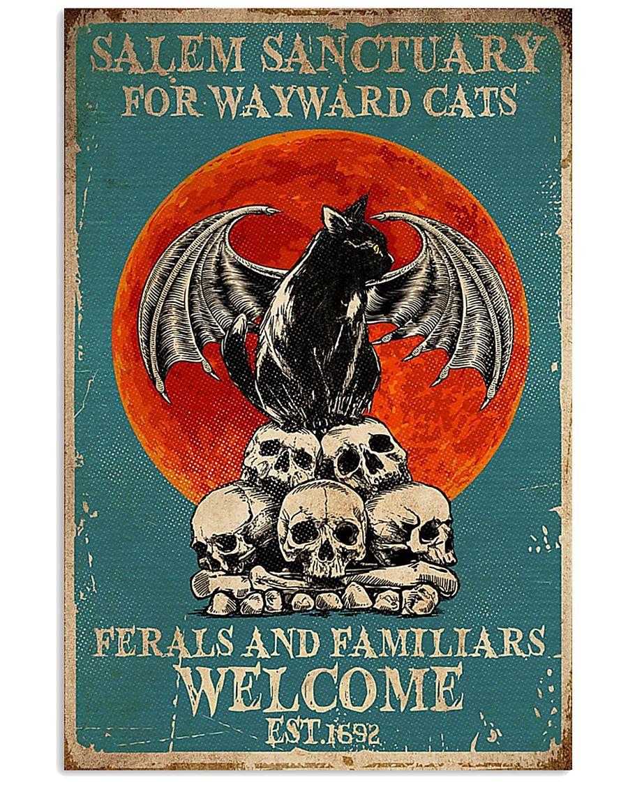 Salem sanctuary for wayward cats ferals and famili 11x17 Poster
