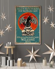 Salem sanctuary for wayward cats ferals and famili 11x17 Poster lifestyle-holiday-poster-1