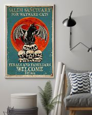 Salem sanctuary for wayward cats ferals and famili 11x17 Poster lifestyle-poster-1