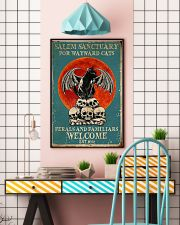 Salem sanctuary for wayward cats ferals and famili 11x17 Poster lifestyle-poster-6