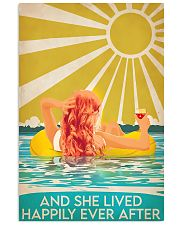 Swimming Redhead and she lived happily ever after  11x17 Poster front