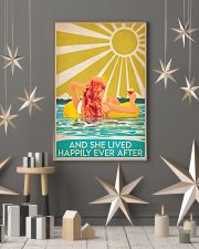 Swimming Redhead and she lived happily ever after  11x17 Poster lifestyle-holiday-poster-1