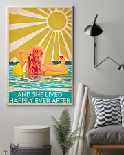 Swimming Redhead and she lived happily ever after  11x17 Poster lifestyle-poster-1