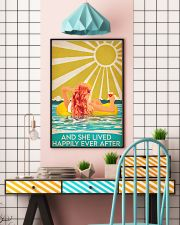 Swimming Redhead and she lived happily ever after  11x17 Poster lifestyle-poster-6