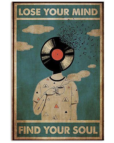 DJ lose my mind find your soul poster