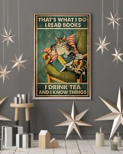 Cat that's what I do I read book I drink tea and I 11x17 Poster lifestyle-holiday-poster-1