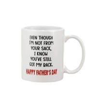 Even though you I'm not from your sack mug Mug front