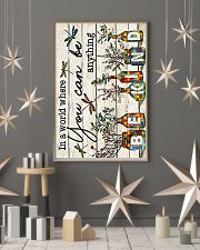 Autism In a world where you can be anything be kin 11x17 Poster lifestyle-holiday-poster-1