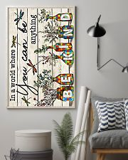 Autism In a world where you can be anything be kin 11x17 Poster lifestyle-poster-1