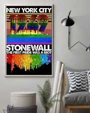 New York city 1969 stonewall the first pride was a 11x17 Poster lifestyle-poster-1