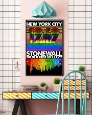 New York city 1969 stonewall the first pride was a 11x17 Poster lifestyle-poster-6
