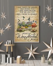 I see trees of green what a wonderful world poster 11x17 Poster lifestyle-holiday-poster-1