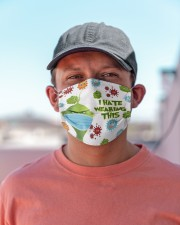 Grinch I hate wearing face mask Cloth Face Mask - 3 Pack aos-face-mask-lifestyle-06