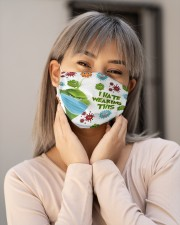 Grinch I hate wearing face mask Cloth Face Mask - 3 Pack aos-face-mask-lifestyle-17