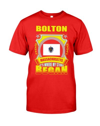 Bolton-MA proud awesome Shirt