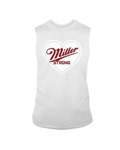 miller strong t shirt