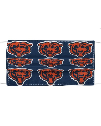 chicago bears surgical mask