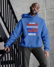 PROUD AMERICAN SOUL UNIQUE WORLD CLASS TRENDING  Hooded Sweatshirt apparel-hooded-sweatshirt-lifestyle-front-10