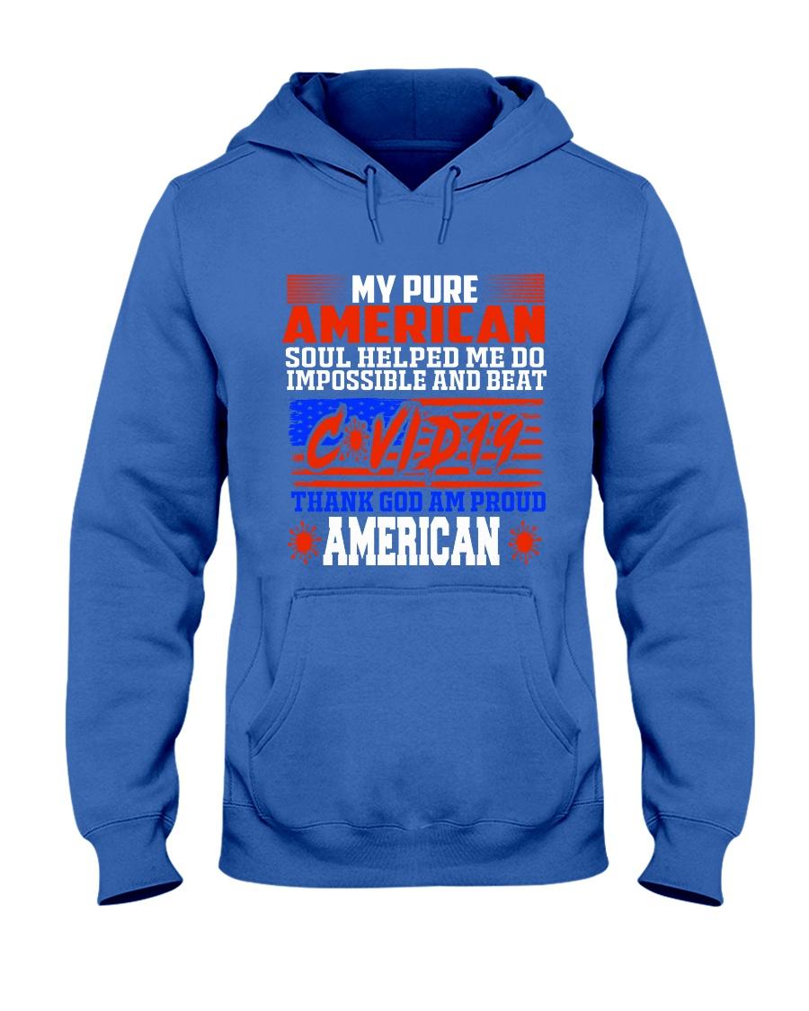 PROUD AMERICAN SOUL UNIQUE WORLD CLASS TRENDING  Hooded Sweatshirt