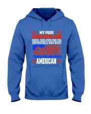 PROUD AMERICAN SOUL UNIQUE WORLD CLASS TRENDING  Hooded Sweatshirt front