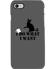 I DO WHAT I WANT meow meow Phone Case thumbnail