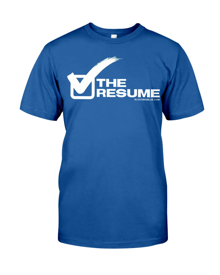 Check The Resume Classic T-Shirt