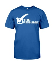 Check The Resume Classic T-Shirt front