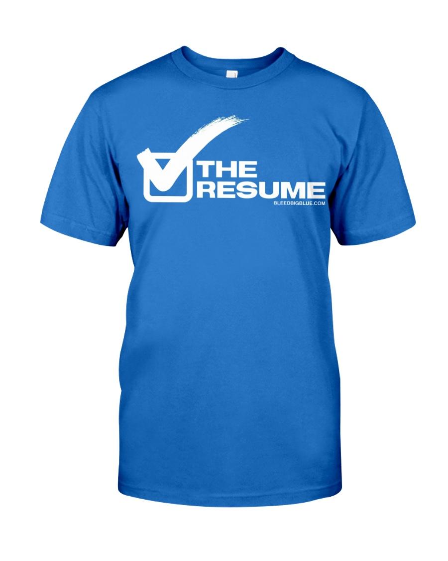 Check The Resume Premium Fit Mens Tee