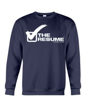 Check The Resume Crewneck Sweatshirt thumbnail