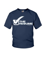 Check The Resume Youth T-Shirt thumbnail