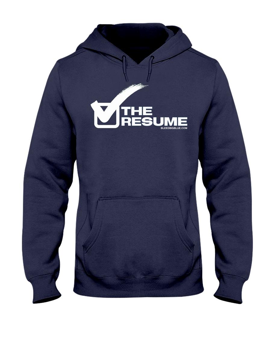 Check The Resume Hooded Sweatshirt