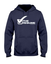 Check The Resume Hooded Sweatshirt thumbnail