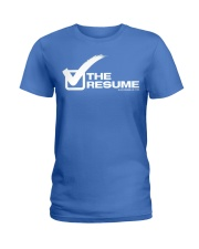 Check The Resume Ladies T-Shirt thumbnail