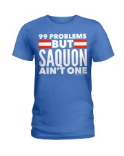99 Problems But Saquon Ain't One   Ladies T-Shirt thumbnail