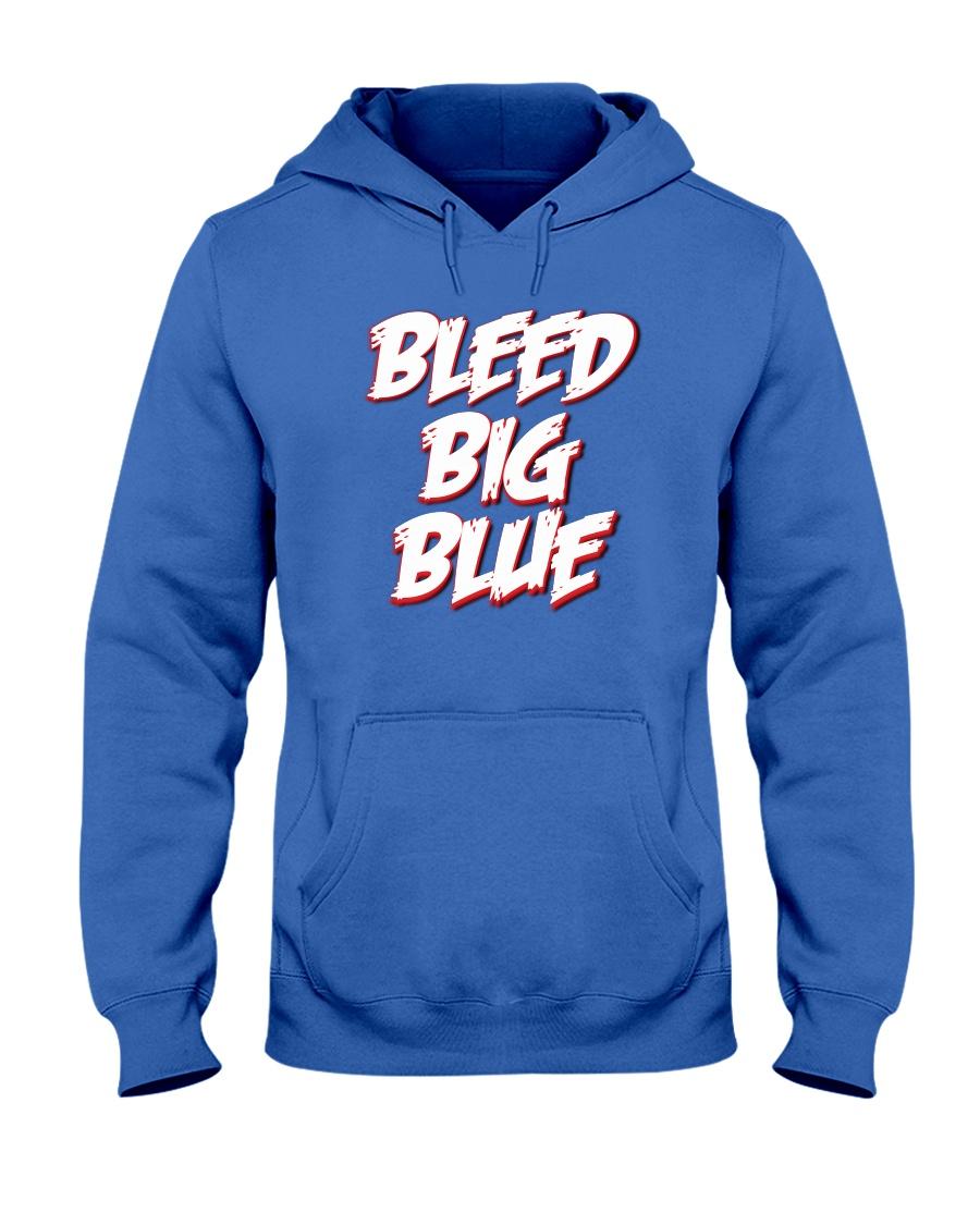 BleedBigBlue Podcast   Hooded Sweatshirt
