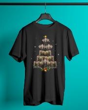 Elephants christmas xmas tree Classic T-Shirt lifestyle-mens-crewneck-front-3