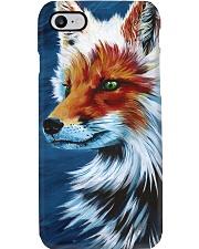 Fox cute amazing art print gift phonecase Phone Case i-phone-8-case