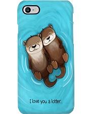Otter cute I love you a lotter fun gifts phonecase Phone Case i-phone-8-case