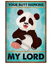 Panda Your butt napkins my lord poster 11x17 Poster front