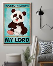 Panda Your butt napkins my lord poster 11x17 Poster lifestyle-poster-1