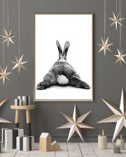 Rabbit butt back funny gifts poster 11x17 Poster lifestyle-holiday-poster-1